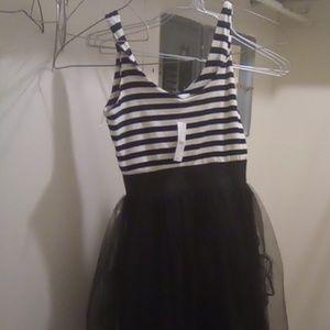 Dresses & Skirts - Black Poppy pacsun dress